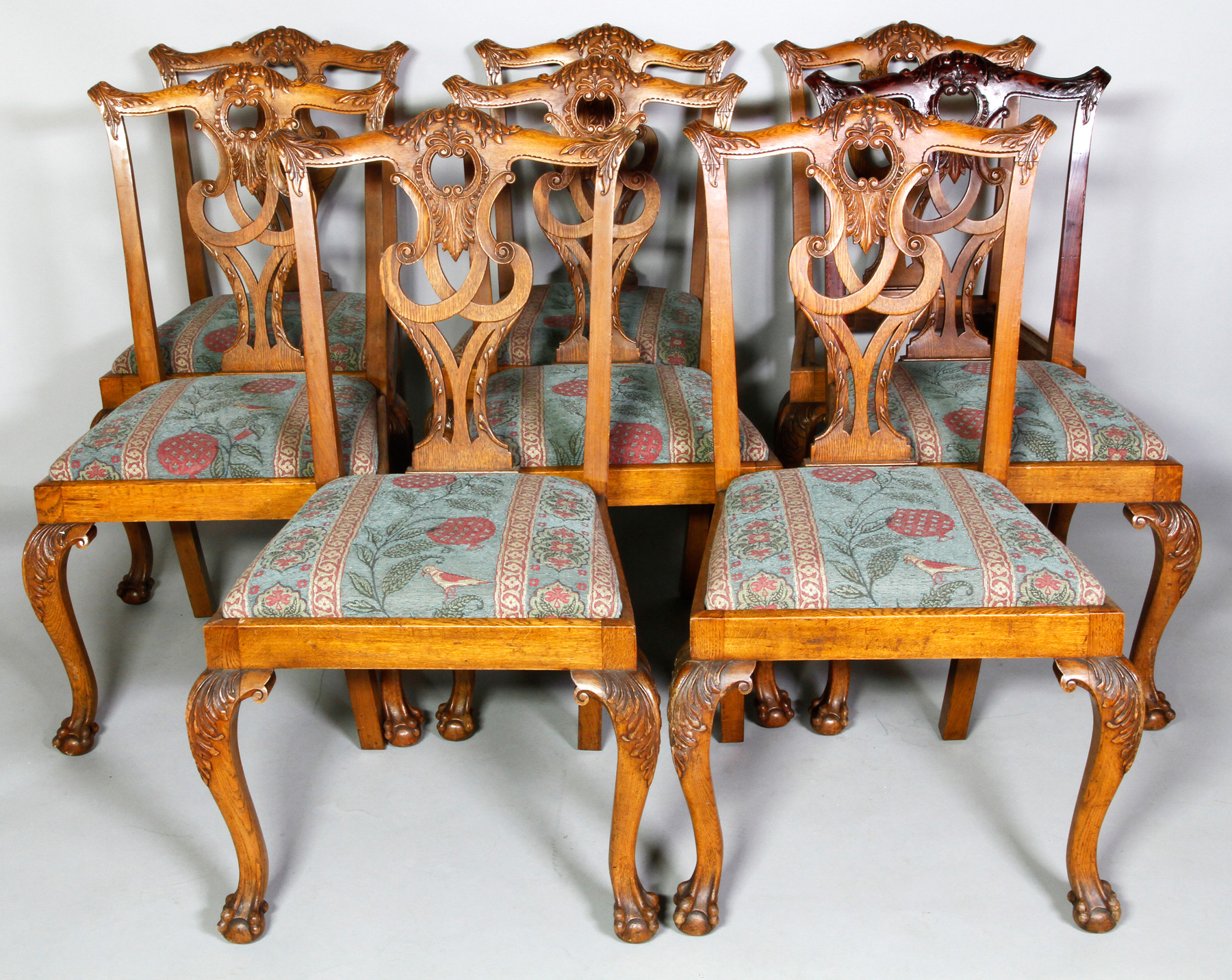 Chippendale Chairs Auction Chippendale Style Chairs