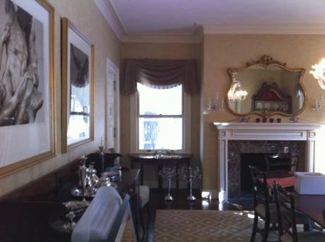 Original Boring Beige Dining Room