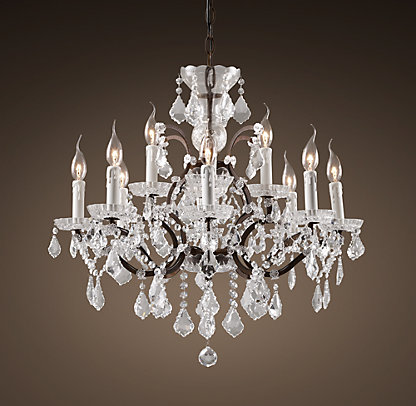 RH Rococo Chandelier $1495-$2795