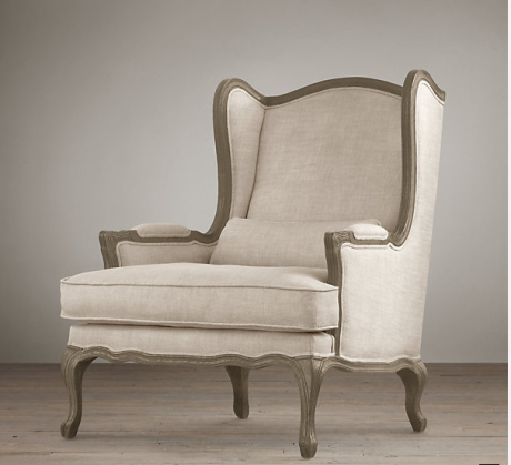 The RH Lorraine Chair $595-$710