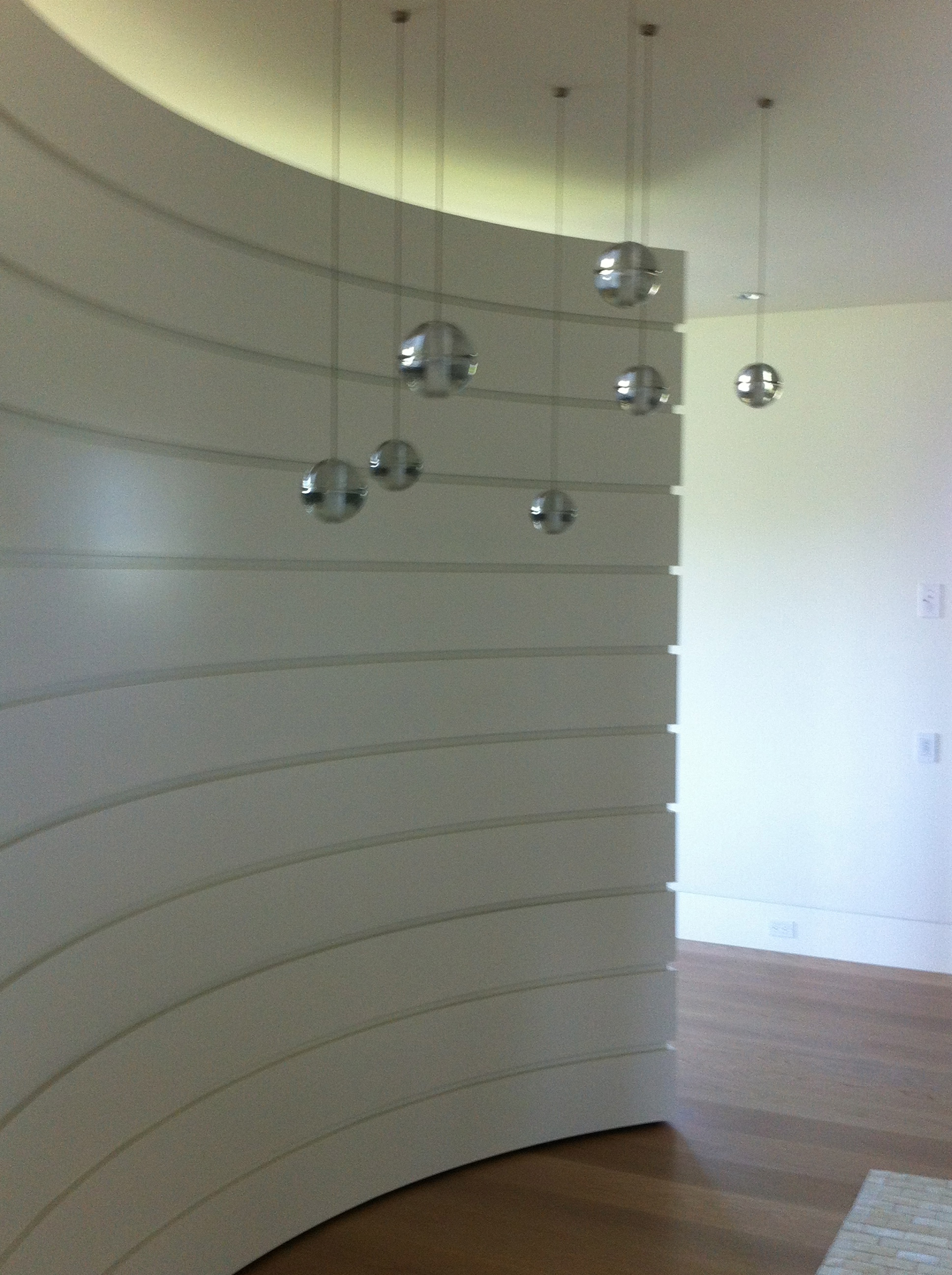 Miscellaneous d cor for Curved wall