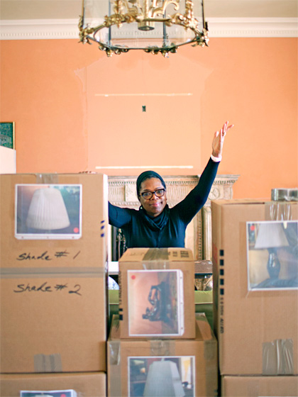 Oprah's decision to redo her homes is the catalyst for a huge auction of her belongings !