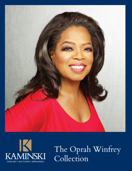 The Oprah Winfrey Collection catalog cover.