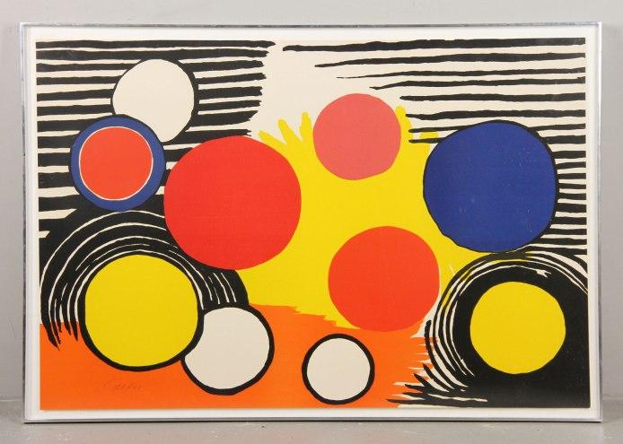Alexander Calder print