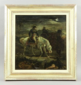 19th Century Napoleon II Riding on Horseback painting