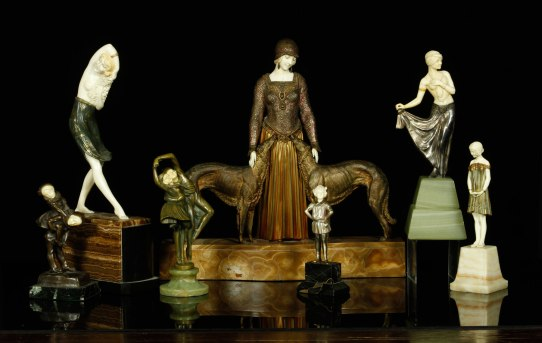 Collection of Art Deco Figures