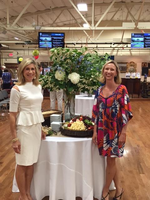 Kaminski Auctions Director Of Marketing Diane Riva and Social Media Director Amy Cavilla