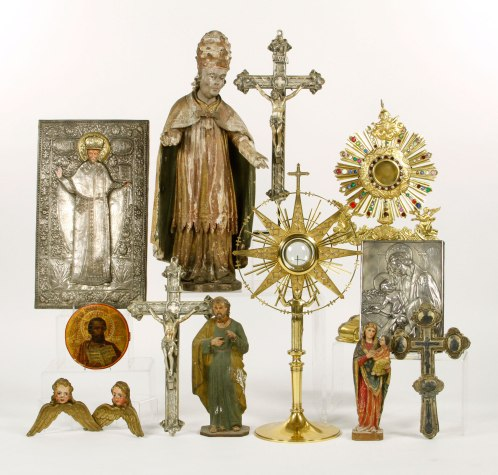 Various items from the Religious Collection