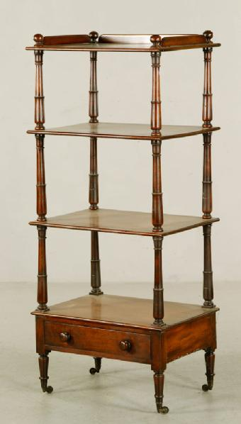Lot#-8274-English Etagere