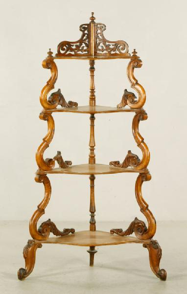 Lot#-8227- Decorative Whatnotstand