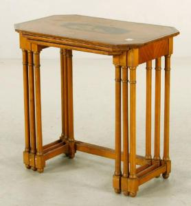 Lot#-8321-Adams style Nesting Tables